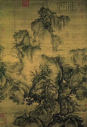 Го Си. Ранняя весна. 1072г. Гугун, Тайбэй.