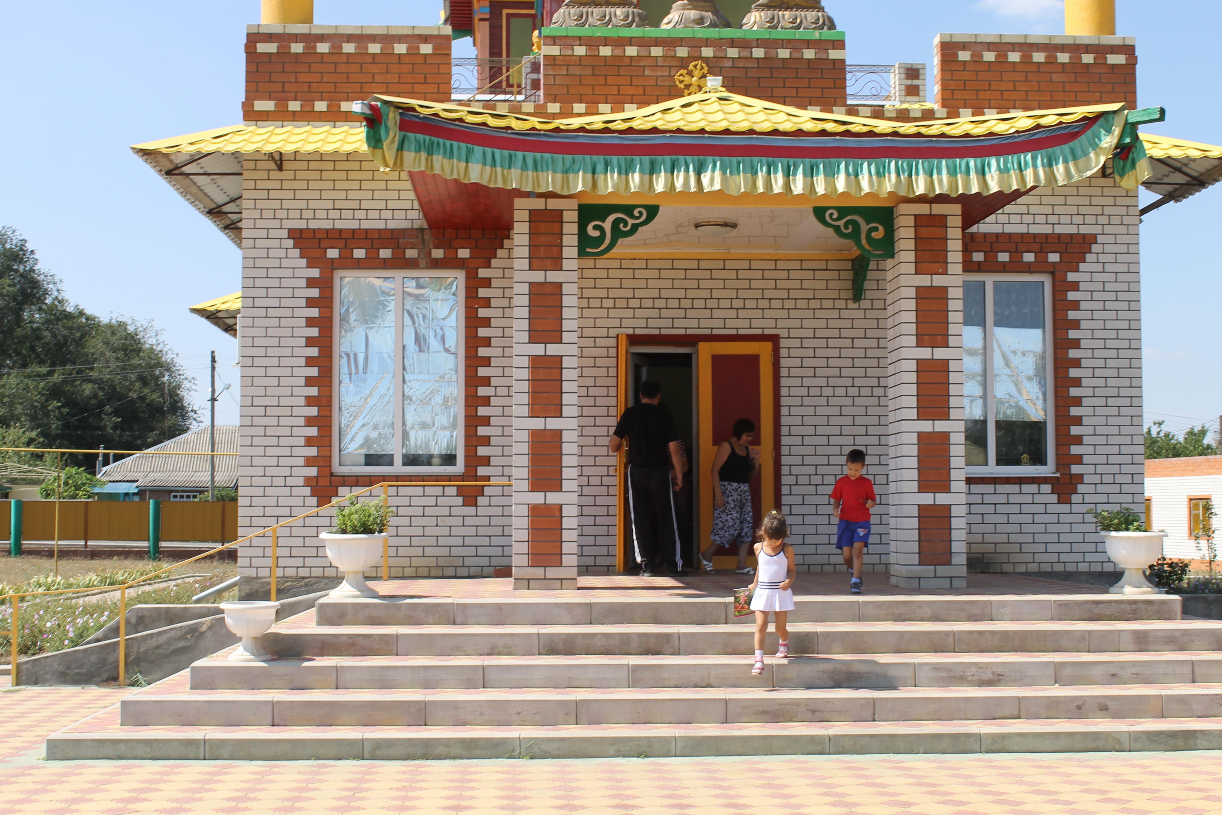 Буддизм в Калмыкии Тантрический монастырь Владыки Зонкавы
