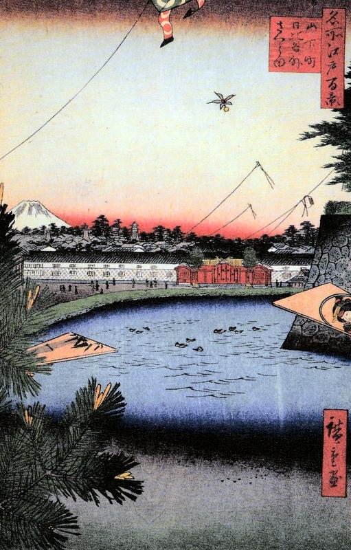 Хиросигэ Ямаситатё Хибия Сото-Сакурада