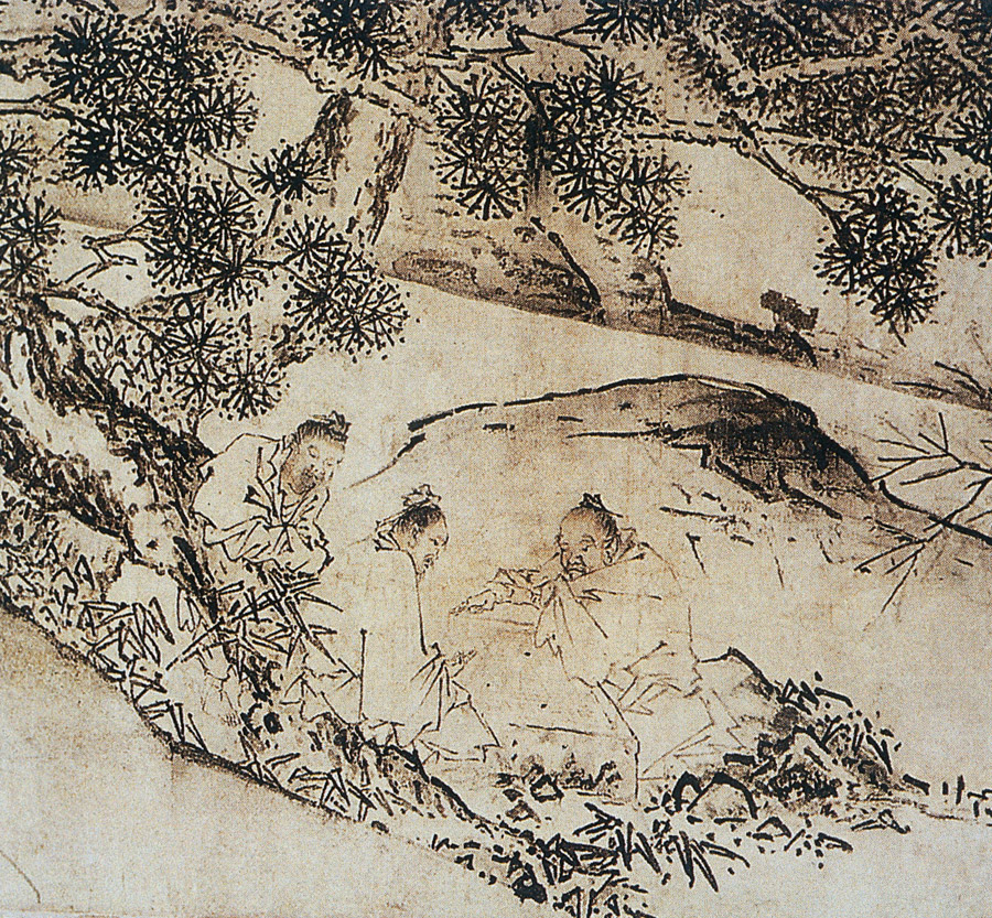 Ма Юань Четыре святых на горе
