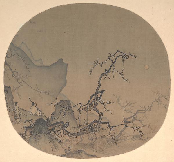 """Ма Юань  """"Любуясь цветением  сливы при лунном свете"""""""