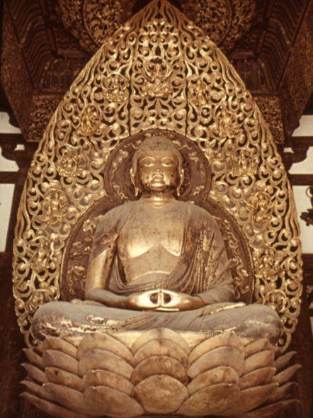 Дзётё. Будда Амида . 1053