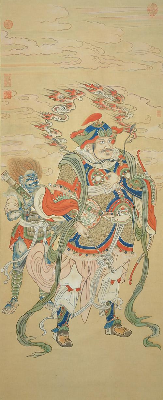 Девараджа Сюй Ян (эт. Ок 1750-1776), династия Цин