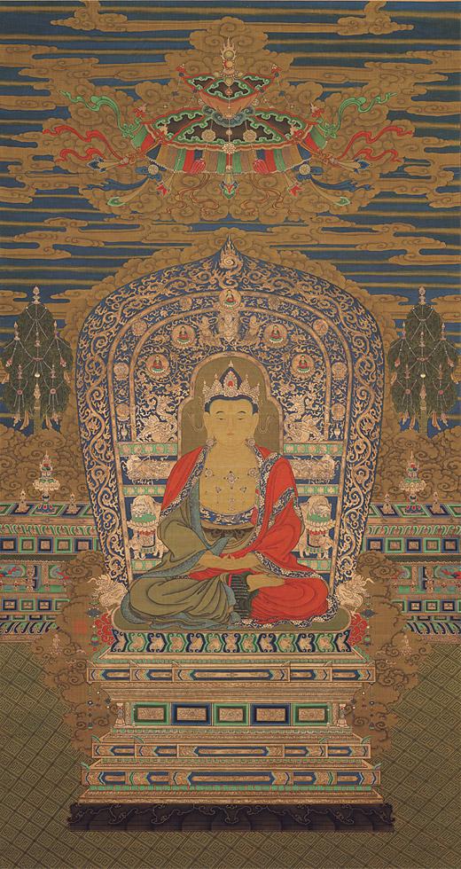 Будда. Неизвестный художник. Юань