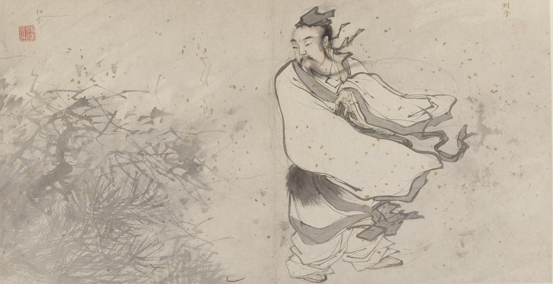 Даосский философ Ле Цзы