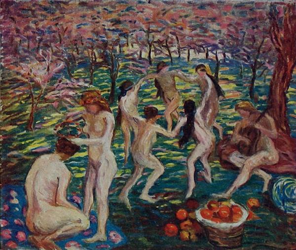 Pan Yuliang (Chinese, 1899-1977) Spring. 1929 г.