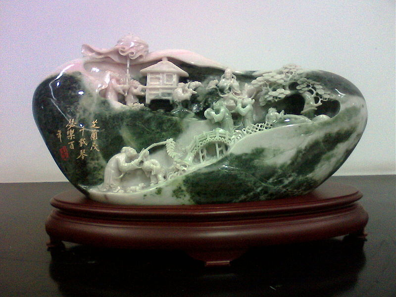 Нефритовая скульптура. Китай